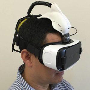 Primeiro Protótipo Do óculos, Que Utiliza A Tecnologia De Realidade Virtual, O Samsung VR. (nGoggle/)
